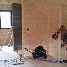 Dom drewniany 1