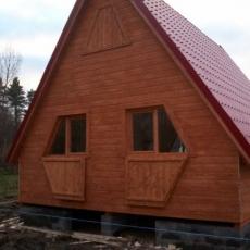 Dom drewniany 2
